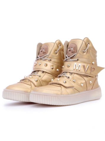 MVP Fitness Hard Skull 70107 Light Gold Sneakers