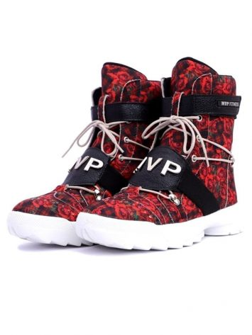 MVP Fitness Thunder Fit Sneakers – Red Rose