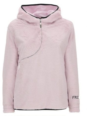 FREDDY Hooded Jacket - Curved Zip - CURVE14F908 -Lilac