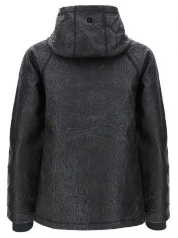 FREDDY Hooded Jacket - Curved Zip - CURVE2F901 -Black