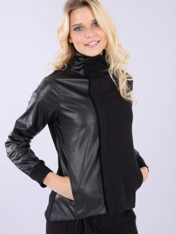 FREDDY WR.UP Jacket Top – Mellenials – F9WMLS2 -Black