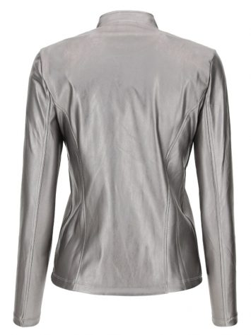 FREDDY WRUP LONG SLEEVE JACKET - S0WTWJ5 -Silver