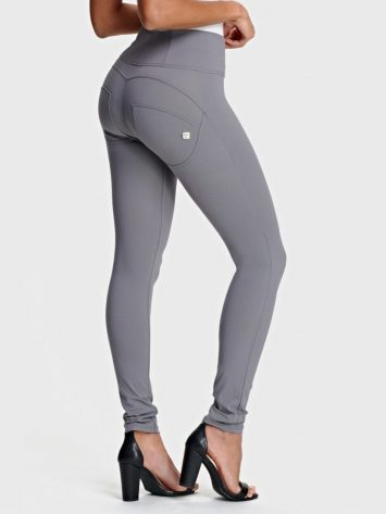 FREDDY WR.UP® High-Rise Skinny-Fit Trousers IN D.I.W.O.® PRO- WRUP1HC005- GRAY