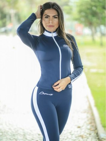 DYNAMITE BRAZIL Jacket Argon CA502 – Sexy Workout Long Sleeve Jacket