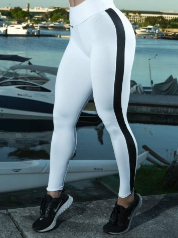 DYNAMITE BRAZIL Leggings L2012 Hazzard White/Black