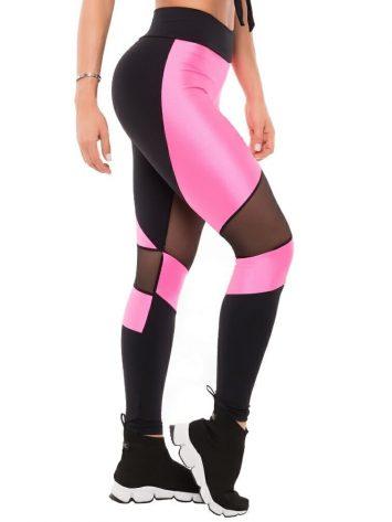 BFB Activewear Leggings Power Pink Cirre – 38282