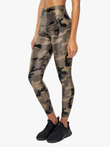 Lustrous High Rise Legging – Camouflage