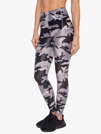 Lustrous High Rise Legging – Lead Camo