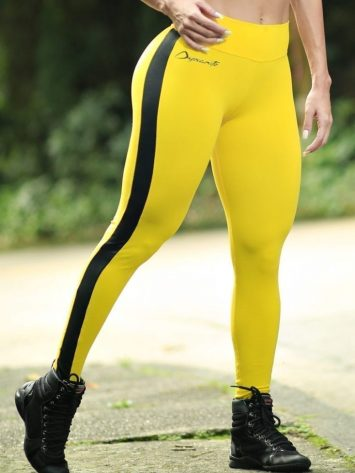 DYNAMITE BRAZIL Leggings Black Truck