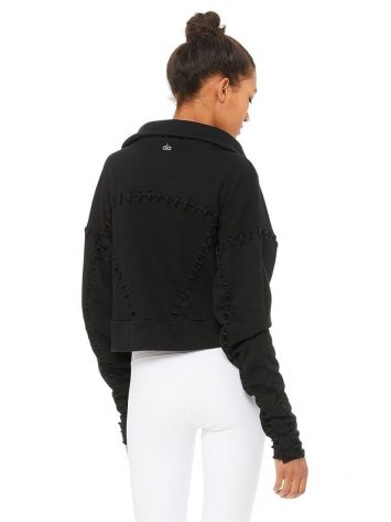 ALO Yoga Splice Jacket Long Sleeve – Black
