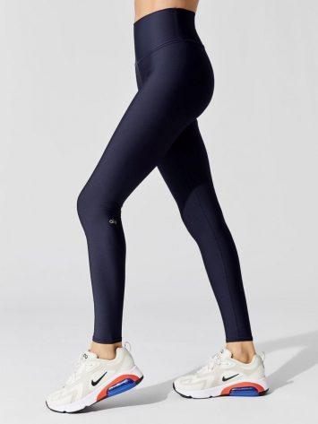 ALO Yoga High Waist Airlift Legging – Rich Navy
