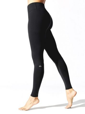 ALO Yoga High Waist Airbrush Legging – Black
