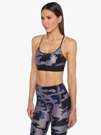 Koral Sweeper Sports Bra – Midnight Camo