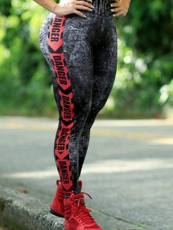 DYNAMITE BRAZIL Leggings L400 Tandem – Red