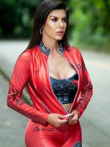 DYNAMITE BRAZIL Jacket – CA507 – Axle Red