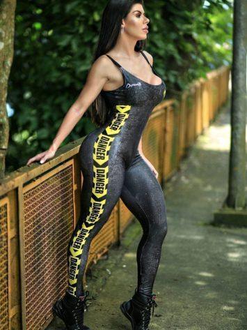 DYNAMITE BRAZIL Jumpsuit  Macacao Screiper Yellow