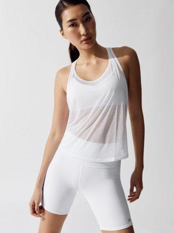 ALO Yoga Arrow Tank Top – White