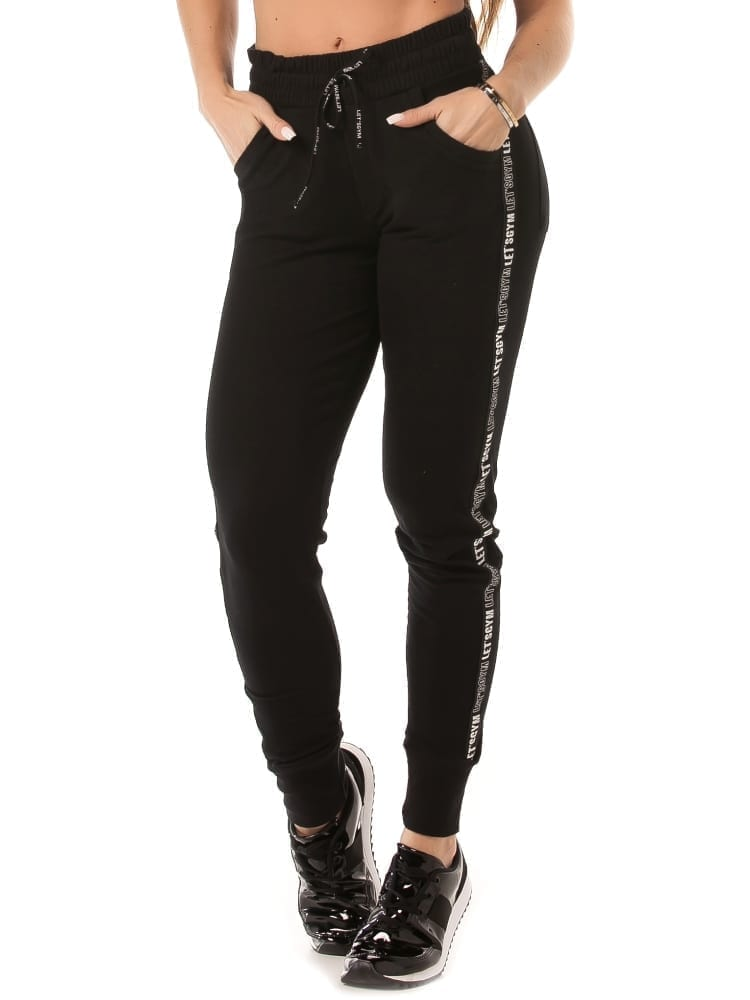 Let's Gym Activewear Jogger Up Pants – Black