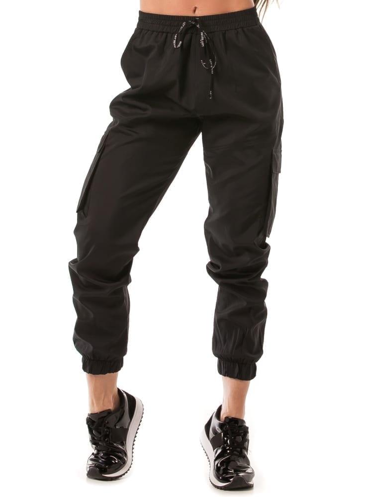 Let's Gym Jogger Cargo Style Pants – Black