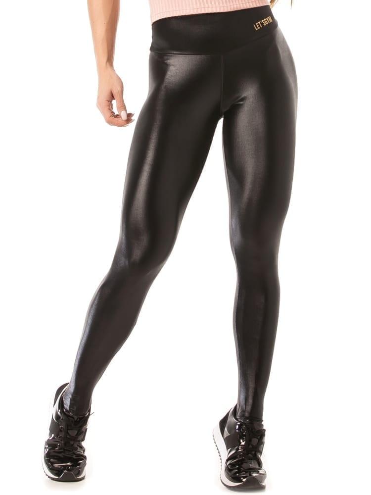 Let's Gym Cirre Luminous Leggings – Black