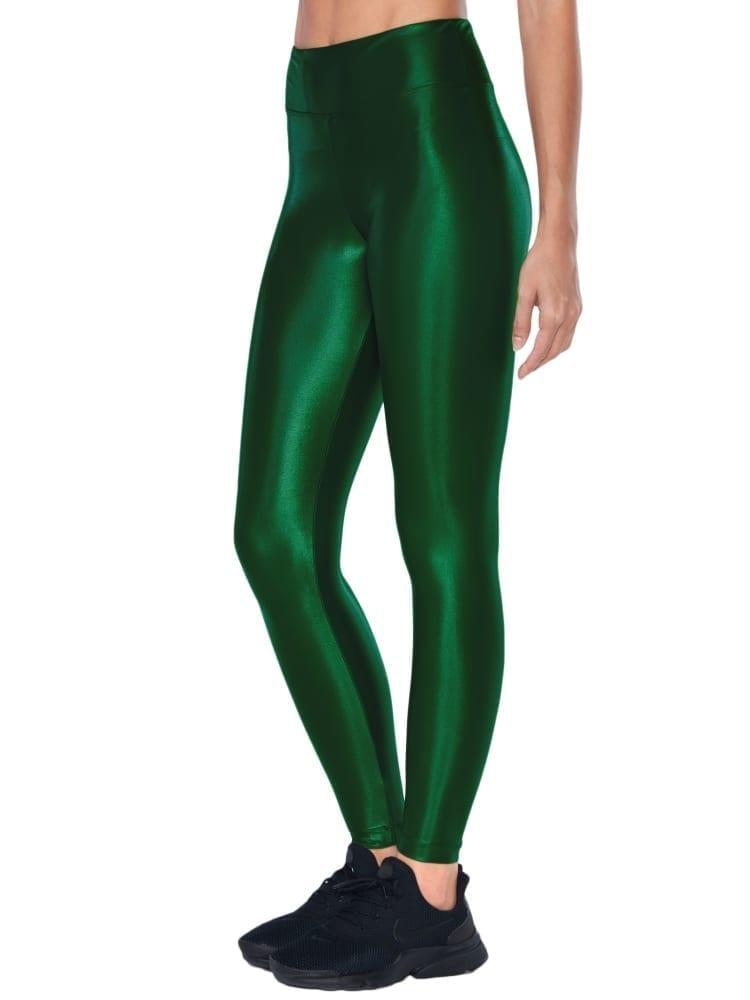 Koral Lustrous High Rise Legging – Dark Green