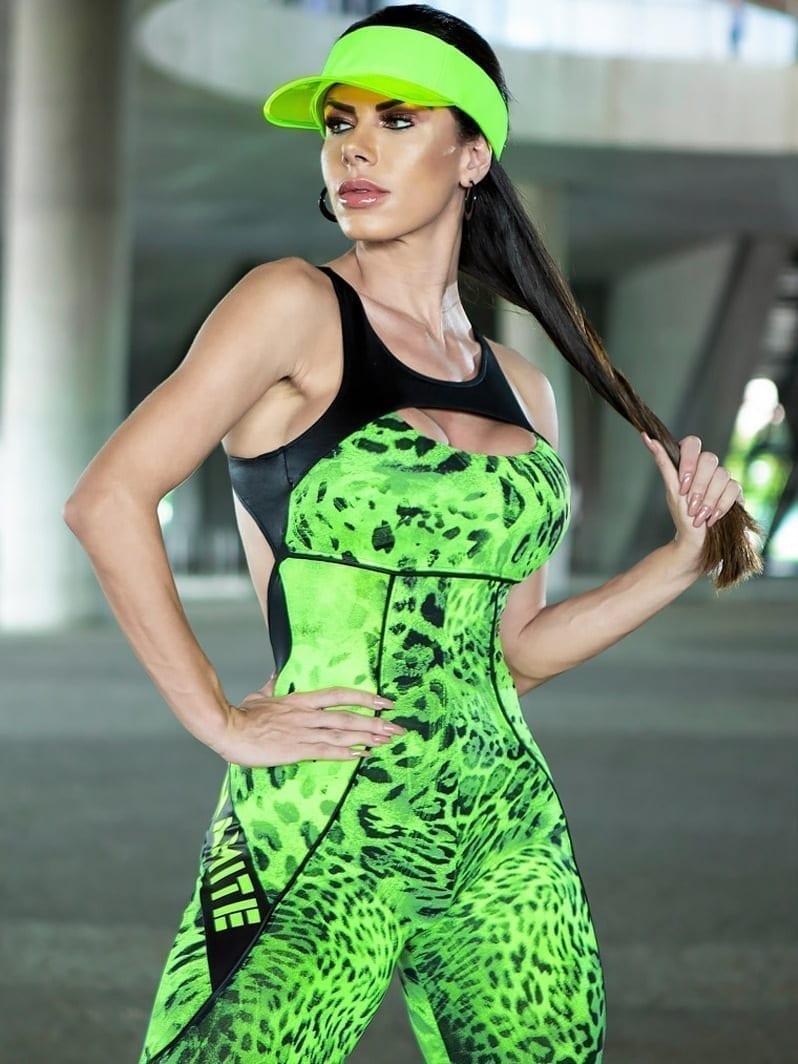 DYNAMITE BRAZIL Jumpsuit ML2018 Meizhou – Camo Neon