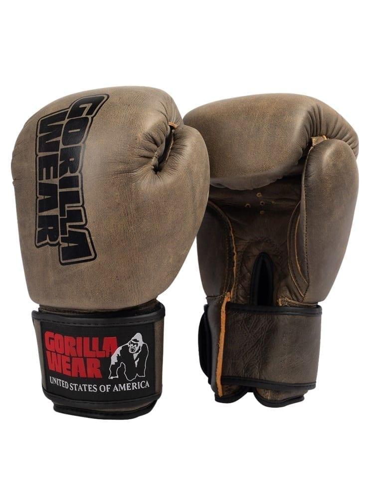Gorilla Wear Yeso Boxing Gloves – Vintage Brown
