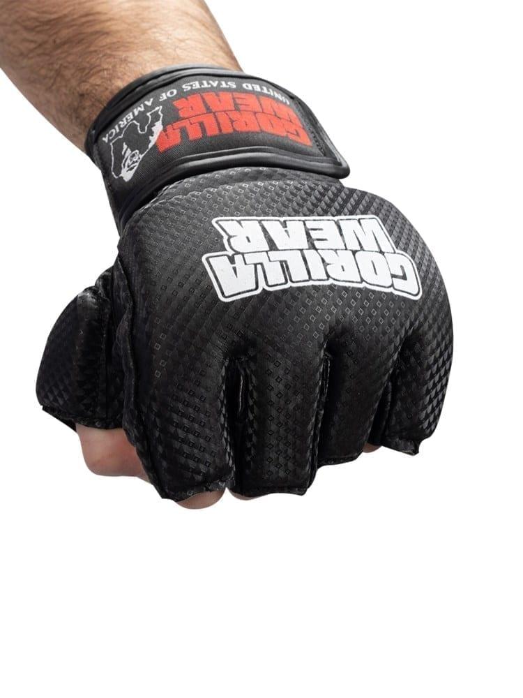 Gorilla Wear Manton MMA Gloves (w/thumb) – Black