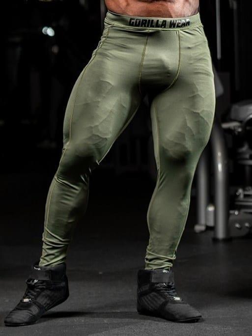 Gorilla Wear Smart Tights – Army Green