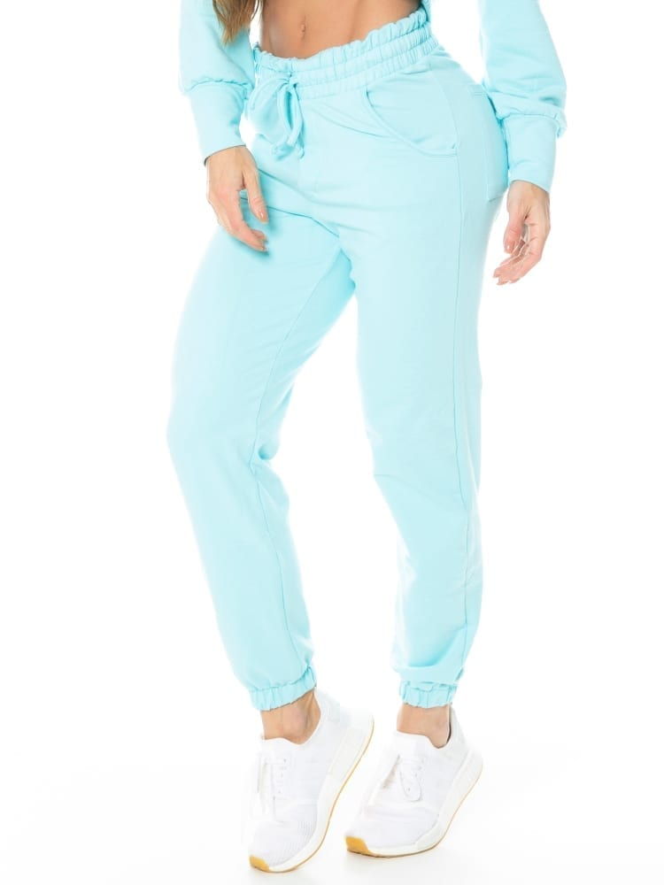Let's Gym Jogger Sport Fleece Trend Sweats – Blue