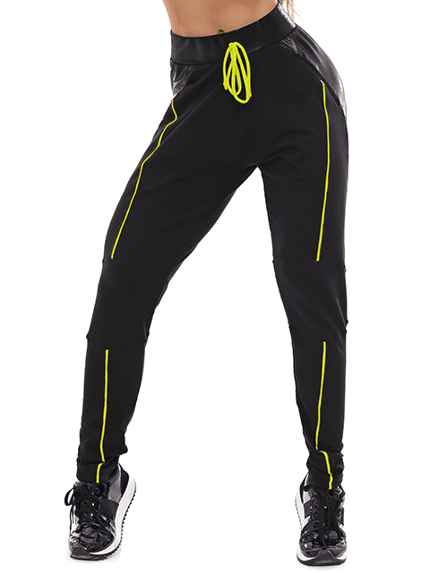 Let's Gym Jogger Style Pants – Black