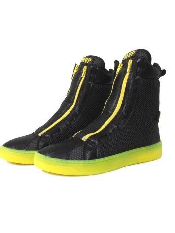 MVP Boot Flex Sneakers – Neon Black