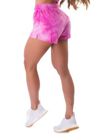 Let's Gym Fitness Shorts Tie Dye Fresh - Rosa