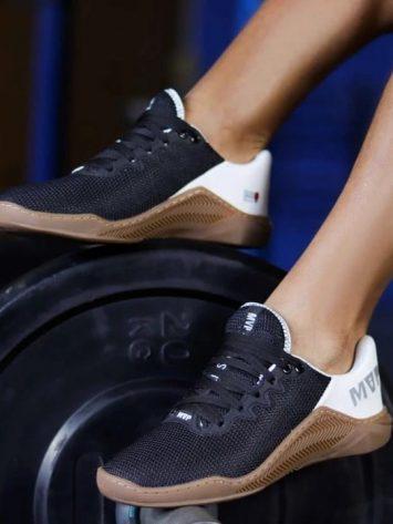 MVP Fitness Cross Training Shoes- Black White