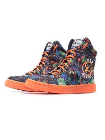 MVP Fitness Dance Fit Sneakers – Neon Orange