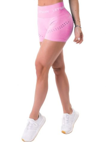 Let's Gym Fitness Shorts Seamless Perfection – Pink