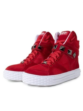 MVP Fitness Hard Fit New Sneakers – Red