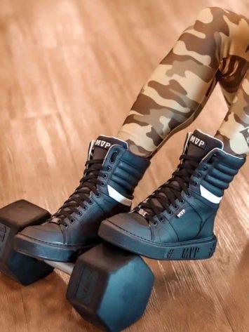 MVP Fitness Spirit Sneakers – Black Onix