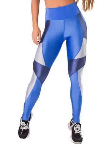 Let's Gym Fitness Summer Love Leggings – Blue