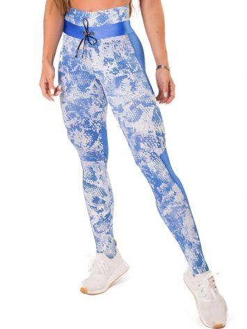 Let's Gym Fitness Fierce Leggings – Blue