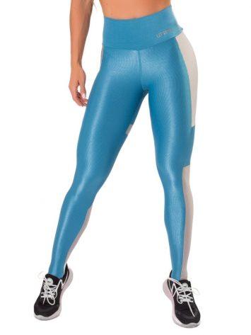 Let's Gym Fitness Wonder Fit Leggings – Blue