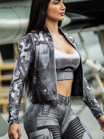 DYNAMITE BRAZIL Jacket – Guardian Rockies – Gray Camo