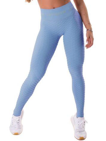 Let's Gym Seamless Brocada Leggings – Blue