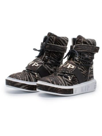 MVP Fitness Tennis Limited Edition Sneakers – Black Jaguar