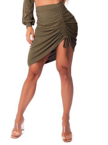 Let's Gym Fitness Saia Canelada Lux and Power – Military Green