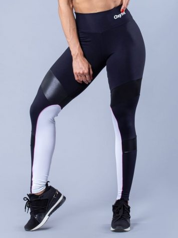 Oxyfit Leggings Speedy- Black/White
