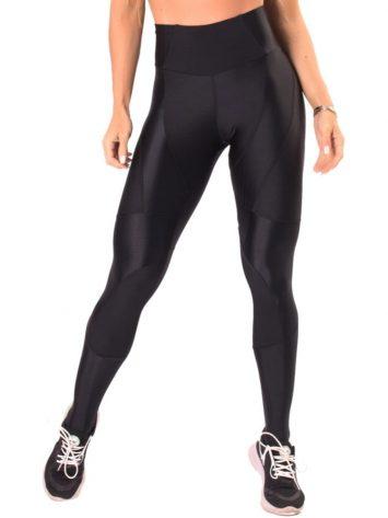 Let's Gym Fitness Active Shine Leggings – Black