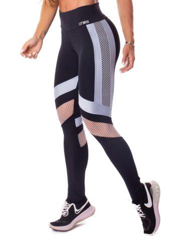 Let's Gym Fitness Maxxi Glow Leggings – Black