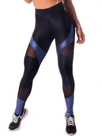 Let's Gym Fitness New Wonders Leggings – Black