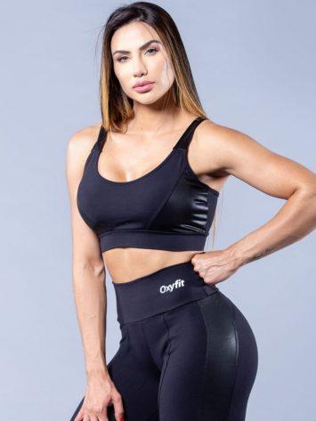 Oxyfit Sports Bra Top Free – black